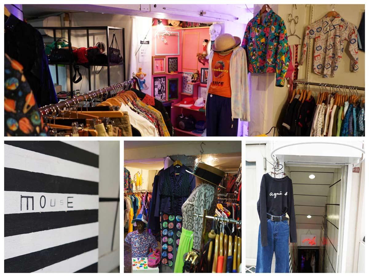 高円寺古着屋「mouse(マウス)」Vintage clothing shop in Koenji Tokyo