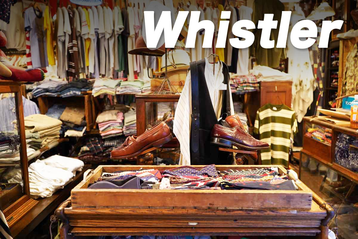 高円寺古着屋「Whistler」