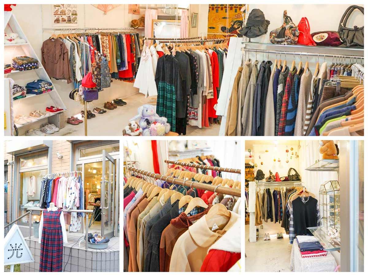 高円寺レディース古着屋「光(ひかり)」Hikari-Womens vintage clothing store in Koeji, Tokyo