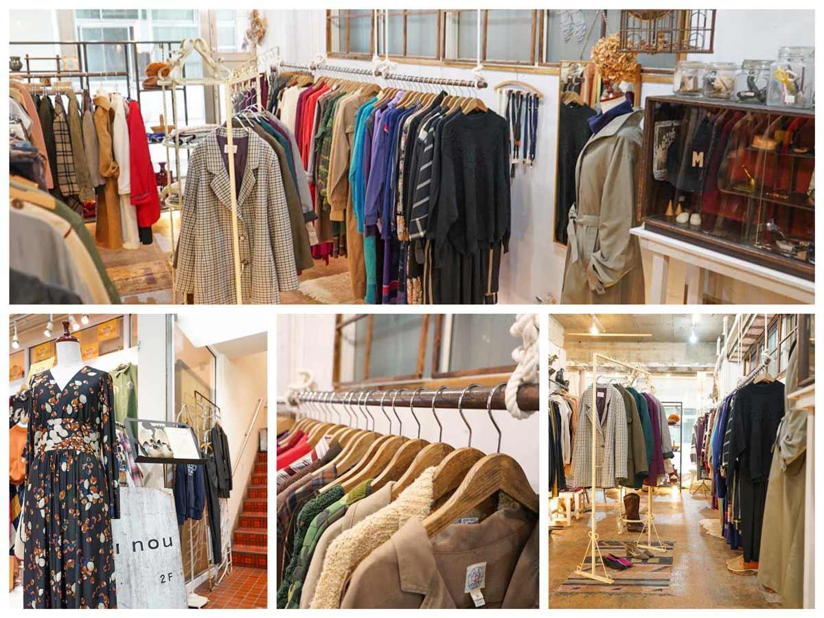 高円寺古着屋「i nou(アイノウ)」i nou- Vintage clothing store in Koenji, Tokyo.