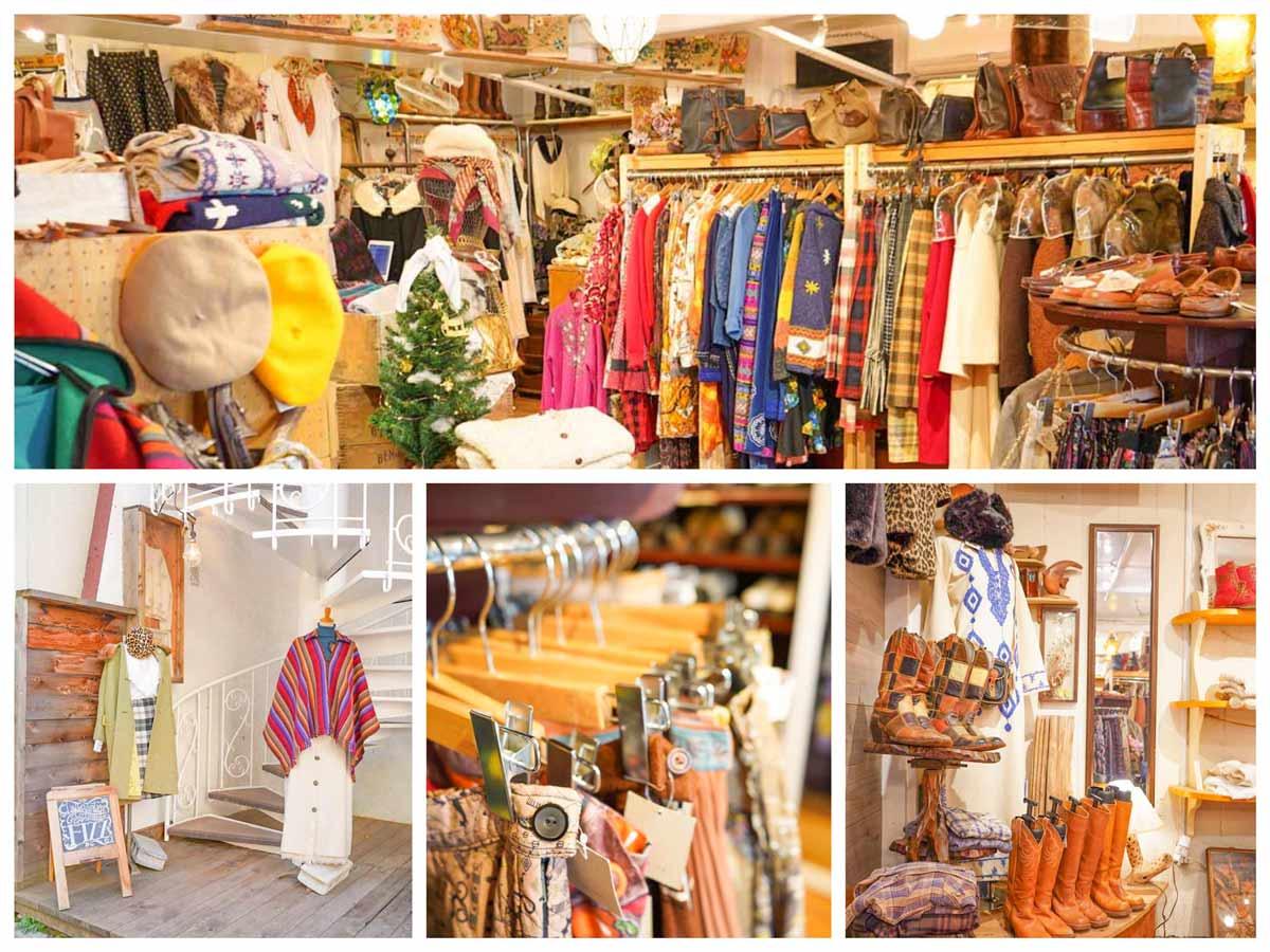 高円寺レディース古着屋「Fizz Look店」Womens Vintage Clothing Shop in Koenji Tokyo