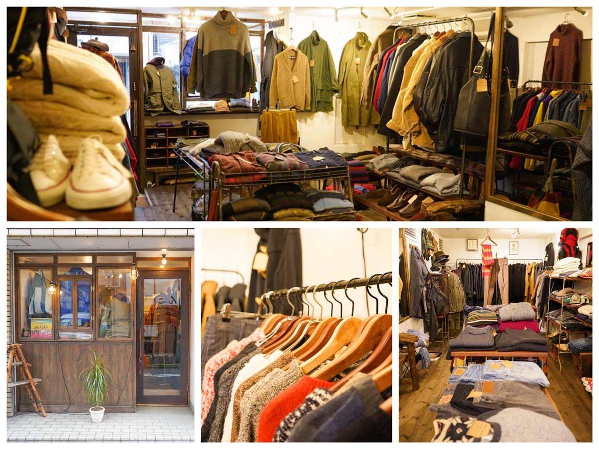 東京-高円寺の古着屋「zuccaro(ズッカーロ)」Vintage Clothing Shop In Koenji Tokyo