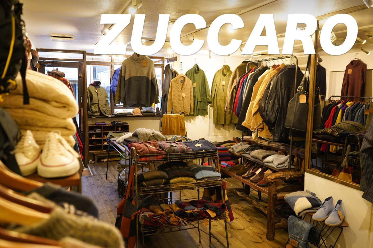東京-高円寺 古着屋「zuccaro(ズッカーロ)」Vintage Clothing Shop In Koenji Tokyo
