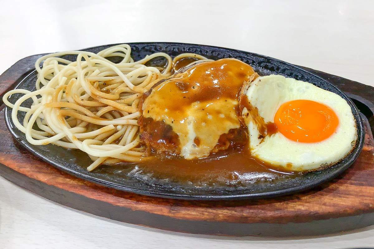 高円寺ランチ「クロンボ」チーズハンバーグ