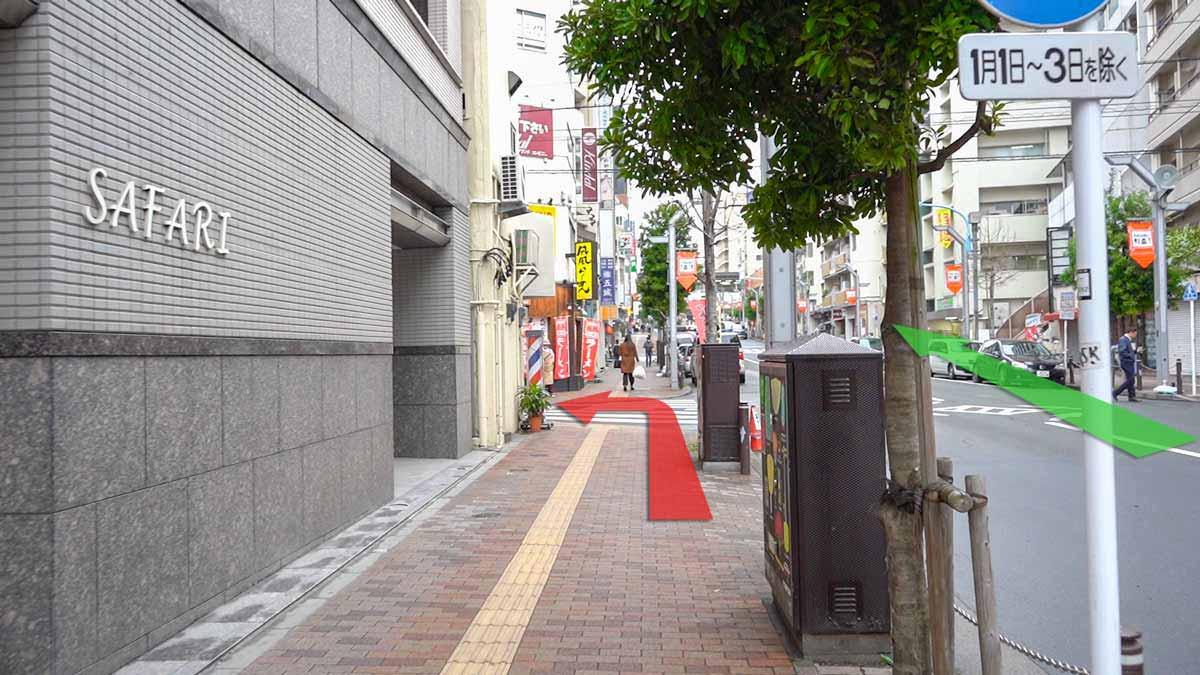高円寺の古着屋巡りおすすめルート画像13