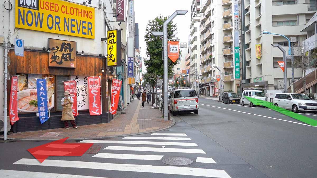 高円寺の古着屋巡りおすすめルート画像14