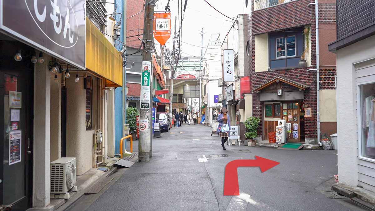 高円寺の古着屋巡りおすすめルート画像15