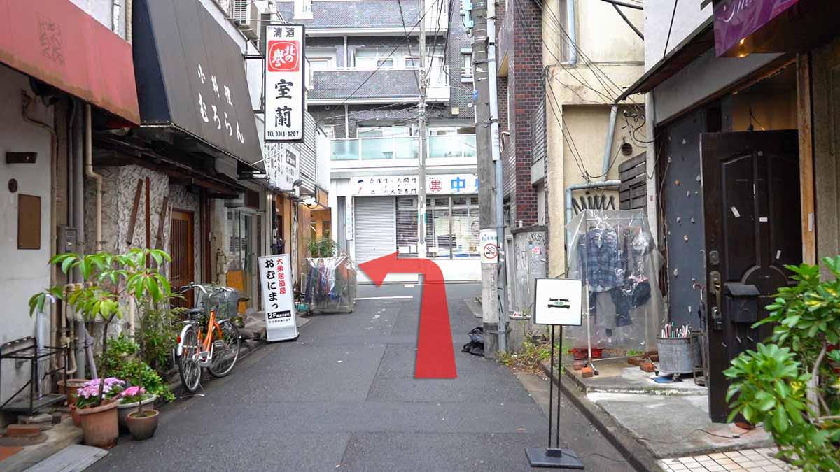 高円寺の古着屋巡りおすすめルート画像16