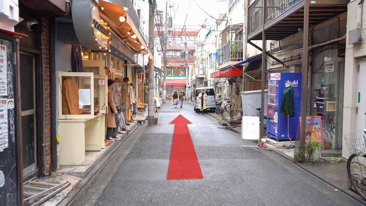高円寺の古着屋巡りおすすめルート画像18