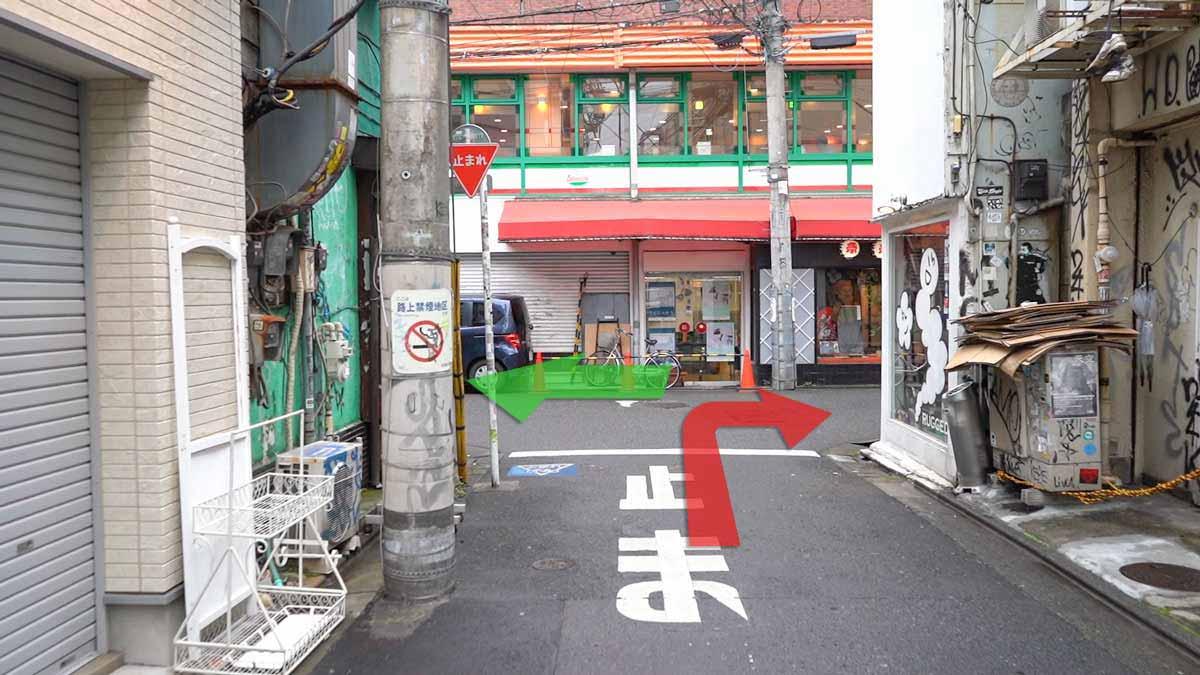 高円寺の古着屋巡りおすすめルート画像19