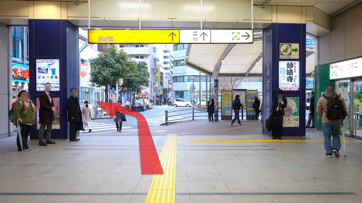 高円寺の古着屋巡りおすすめルート画像2
