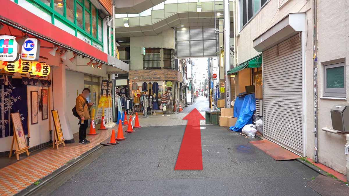 高円寺の古着屋巡りおすすめルート画像20