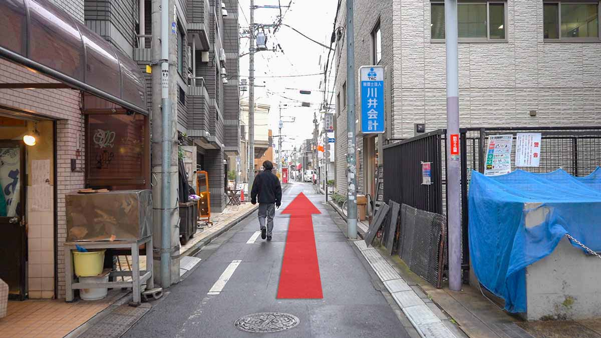 高円寺の古着屋巡りおすすめルート画像21