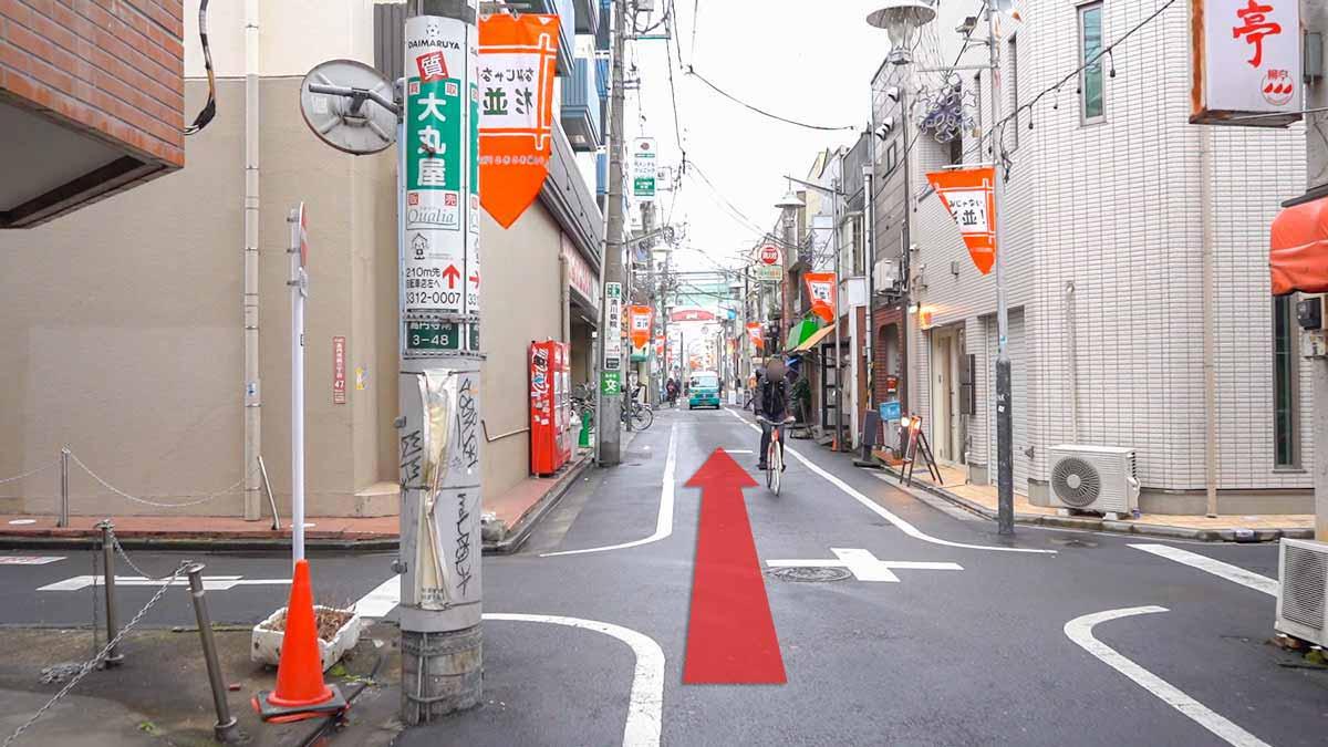 高円寺の古着屋巡りおすすめルート画像27