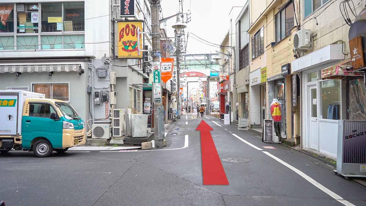 高円寺の古着屋巡りおすすめルート画像28