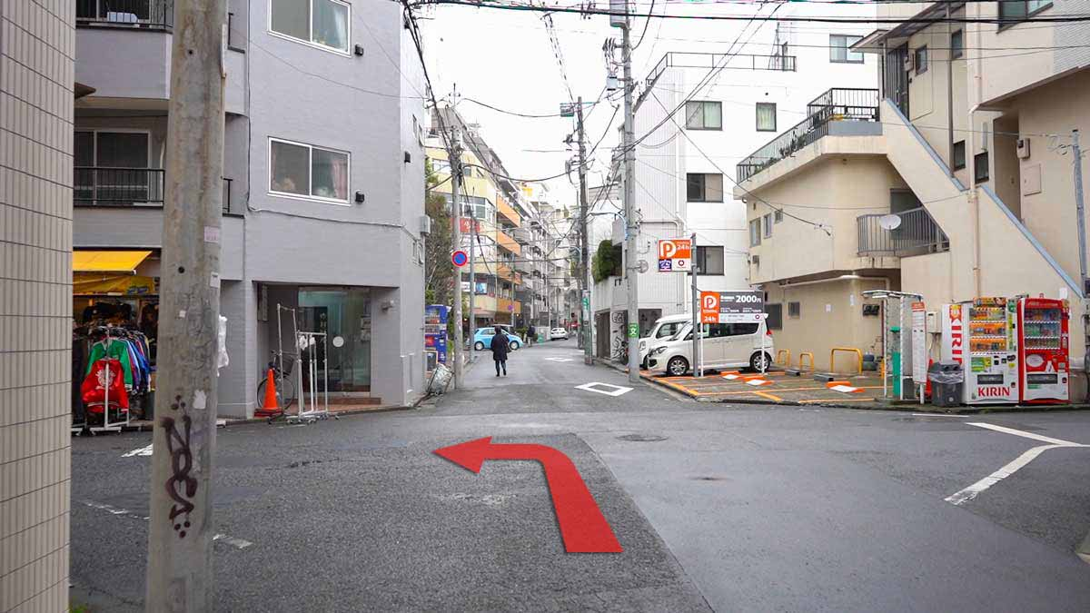 高円寺の古着屋巡りおすすめルート画像9